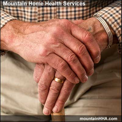 Mountain Home Health Services provideds occupational therapy services.